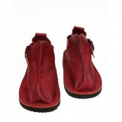 Handmade red Vagabond shoes.