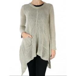 Hand-made linen blouse Naturally Podlasek