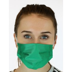 Protective face mask made of light fabric