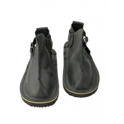 Handmade black Vagabond shoes.