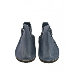 Handmade gray Vagabond shoes.