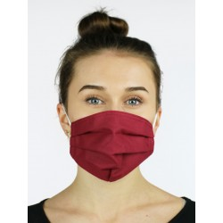Protective face mask made of cotton