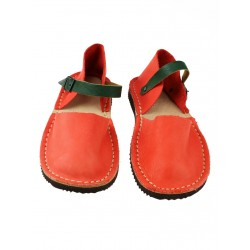 Orange sandals for women from Trek