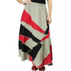 Long patchwork skirt Naturally Podlasek