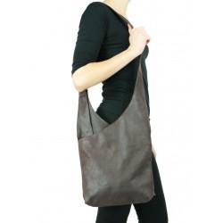 Medium size leather handbag NP