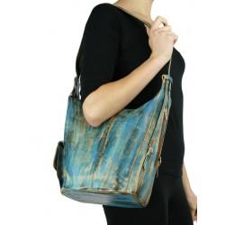 Leather Handbag / Backpack NP