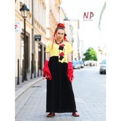 Long linen summer dress Naturally Podlasek
