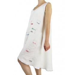 """""""Meggi"""" white summer dress NP"""