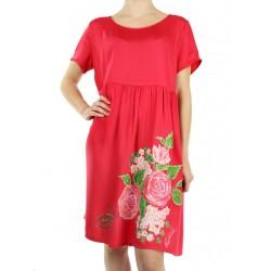An airy summer dress, hand-painted Podlasek