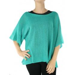 "Short linen blouse made by the ""Linen Island"" studio"