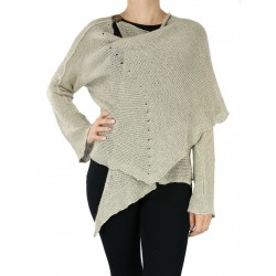 Cardigan with a linen shawl NP