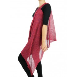 "Linen vest manufactured by ""Linen Island"""