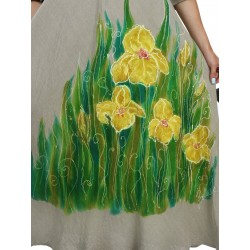 Hand-painted dress NP