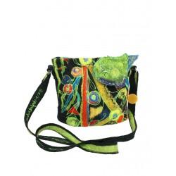 "Felt handbag on silk ""Silk Wool"""