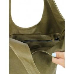 Naturally Podlasek leather shoulder bag