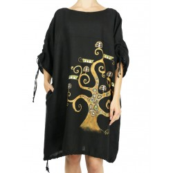 Linen oversize dress NP