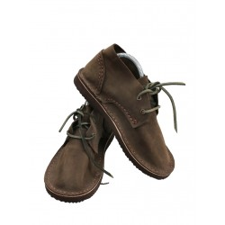 Brown leather shoes from Trek