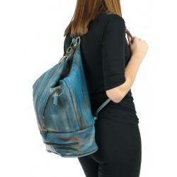 Backpack with a shoulder bag function