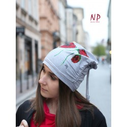 3-in-1 chimney, hat, face mask, knitted cotton