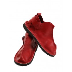 Handmade leather red Vagabond shoes.