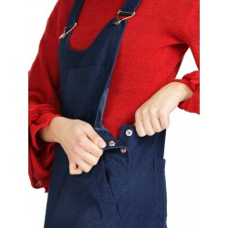 Women's dungarees with lowered crotch made by Naturally Podlasek
