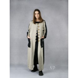Long linen coat for women NP