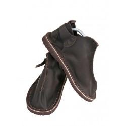Dark brown handmade Vagabond leather shoes from Trek