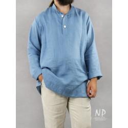 Linen blouse shirt