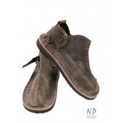 Handmade brown leather Vagabond shoes