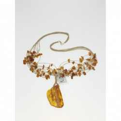 Amber necklace 030 NP