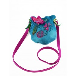 Felted bag silk&wool