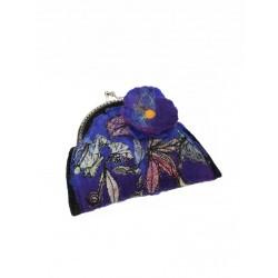 Hand-made felt purse