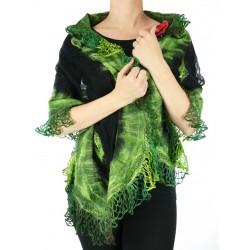 Airy silk scarf