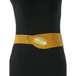 Trek leather belt