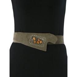 Unique women's decorative belt by Trek workshop.