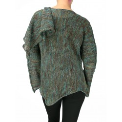 Knitted linen blouse NP