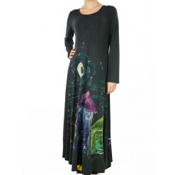Long, fitted knitted dress NP