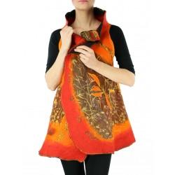 Silk & wool vest NP