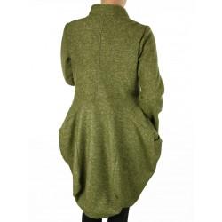wool coat, tweed