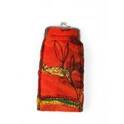 Sukienka dzianina, ręcznie malowana NP