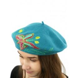 A unique wool beret