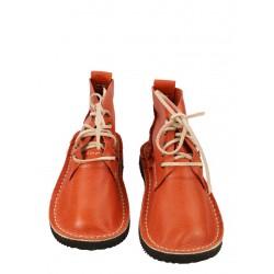 Ręcznie szyte buty skórzane