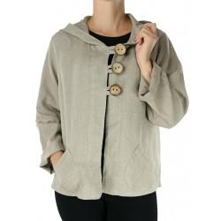 Linen hoodie NP