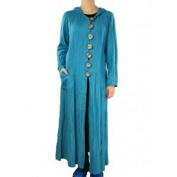 Linen coat with hood Naturally Podlasek