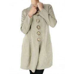 Płaszcz lniany typu Naturalnie Podlasek