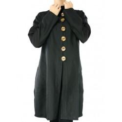 Krótki płaszcz lniany Naturalnie Podlasek